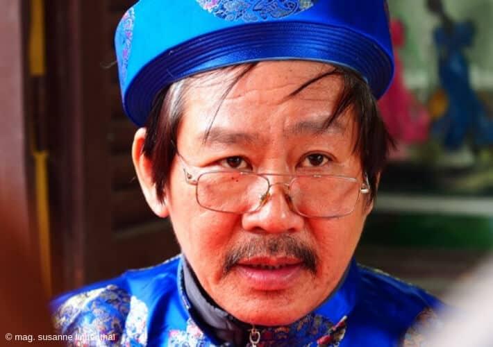 Ein Vietnamesischer Schreiber