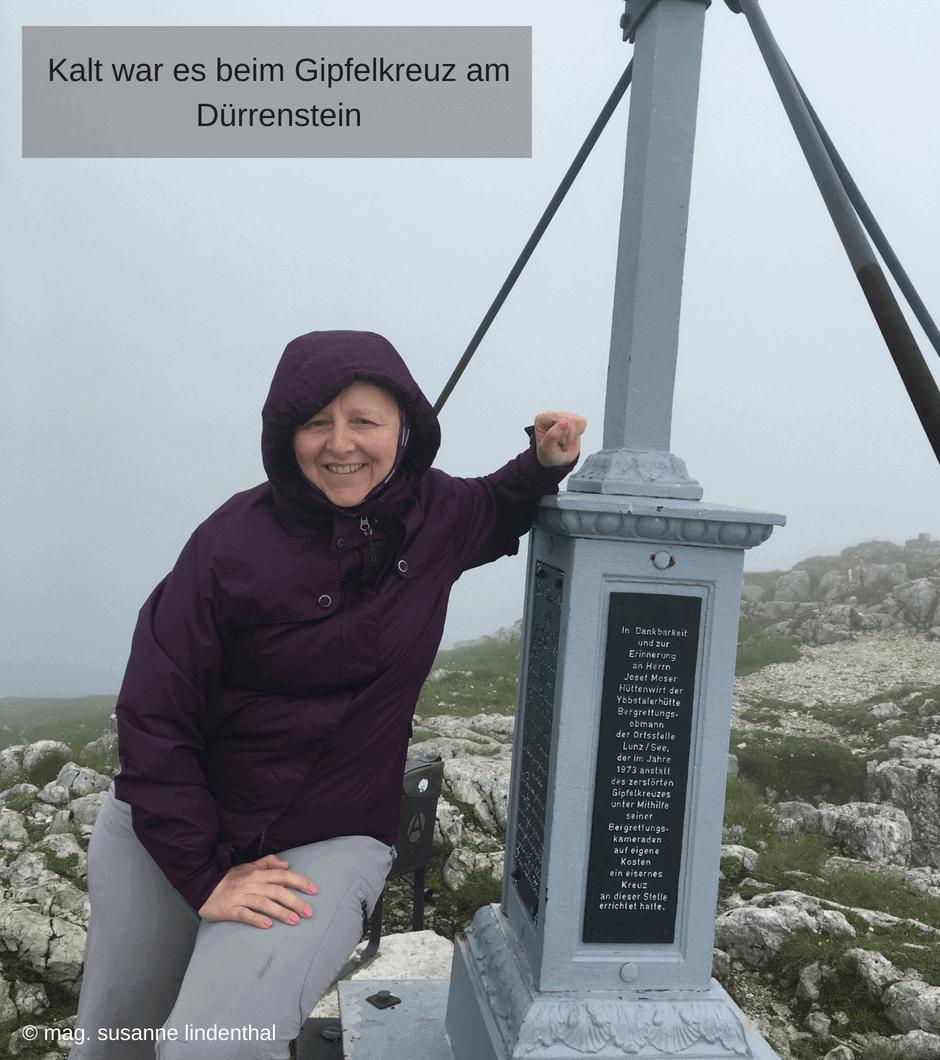 Mariazell Dürrenstein Gipfelkreuz