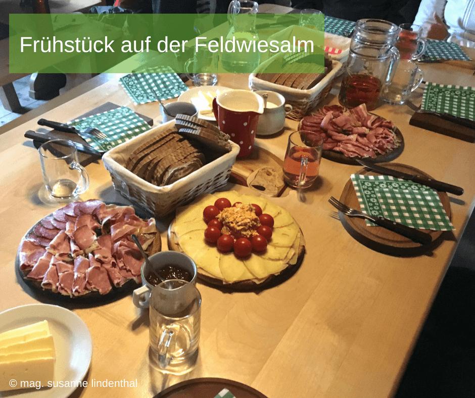 Mariazell Frühstück Feldwiesalm