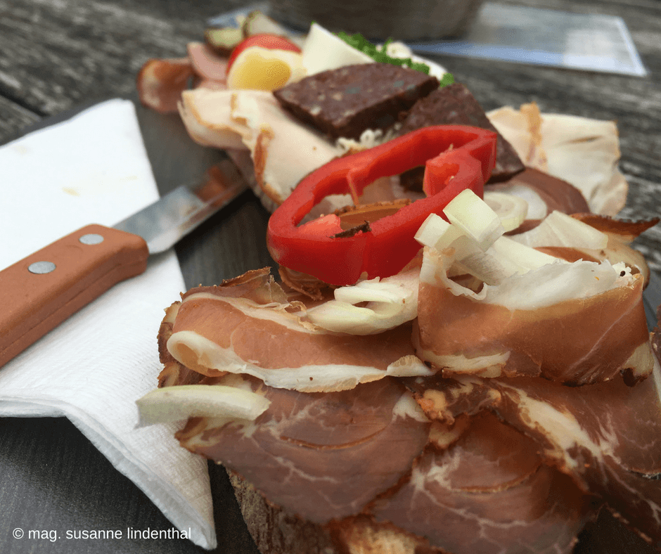 Mariazell belegtes Brot