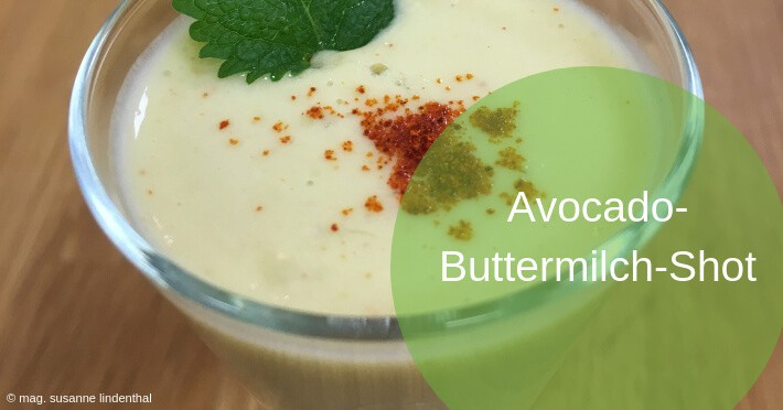 Avocado-Buttermilch-Shot-Titel