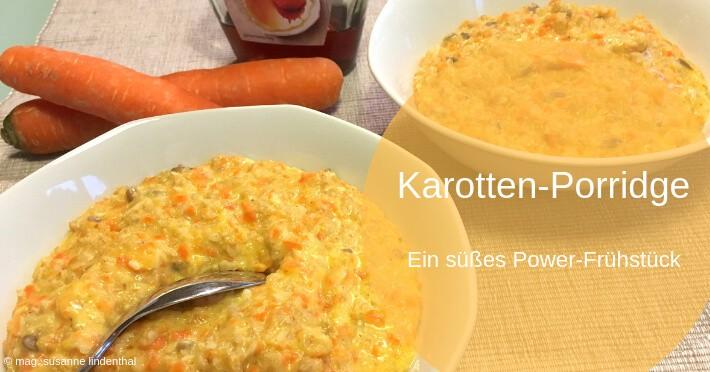 Karotten-Porridge-Titel