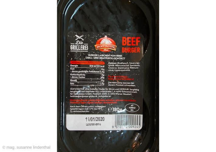 Beef-Burger-Rückseite