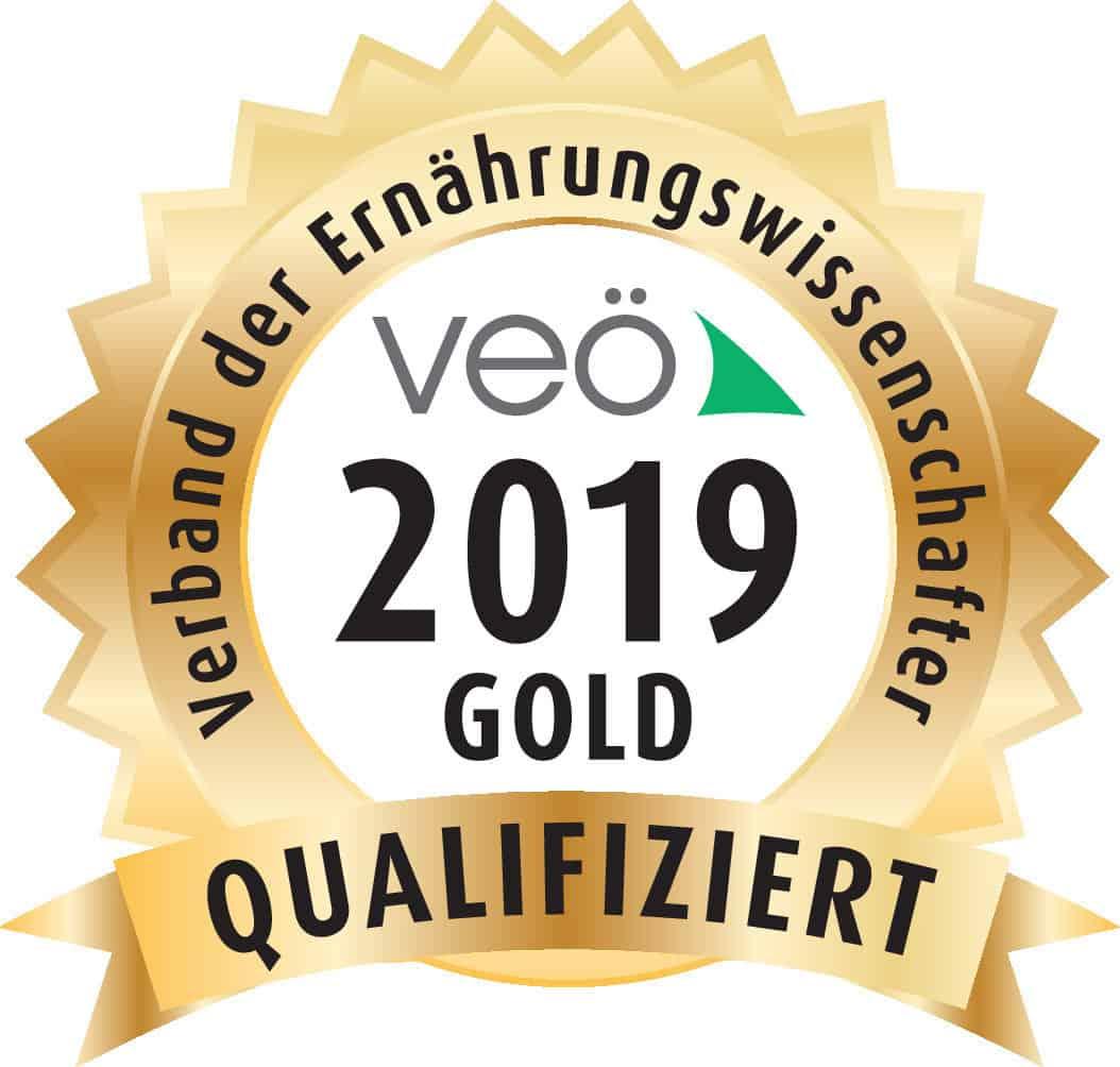 Goldenes Siegel VEÖ für Weiterbildungen 2019