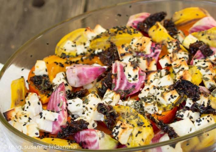 20210922-Mediterranes Herbstgemüse Ofengemüse mit Feta in Auflaufform